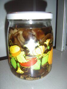 Nakládané václavky na sladko kyselo
