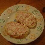 Hermelínová pomazánka na chlebíčky