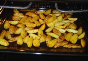 Americké brambory pečené se slupkou