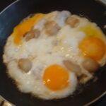 Sázená vejce se slaninou