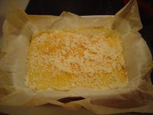 koláč politý smetanou