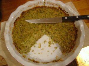 Slaný kapustový koláč s mletým