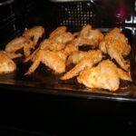 Pikantní kuřecí křídla smažená v troubě