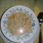 Polévka z okurek