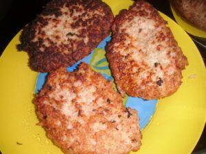 karbanátky z mletého masa a rýže