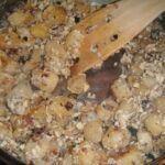 Houskový knedlík s vejcem