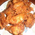 Smažená kuřecí křidélka jako KFC