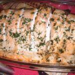 Pečený filet z lososa