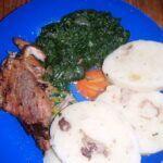 Vepřové maso se špenátem