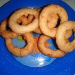Domácí kroužky z cibule