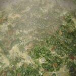 Mražený špenát se smetanou
