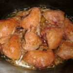 Pečená kuřecí horní stehna