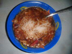 pikantní čínská polévka