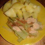 Vařený řapíkatý celer