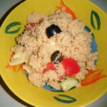 Kuskusový salát se zeleninou
