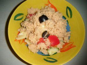 kuskusový salátek