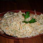 Salát z bílého zelí s mrkví