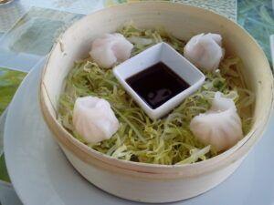 Vietnamské taštičky s masem
